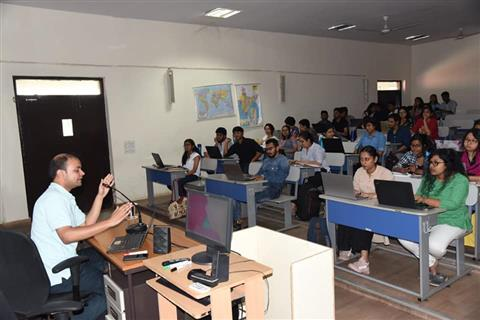 Workshop on Data Analytics was organized for the students of Advertising and Public Relations