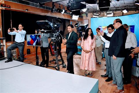 Armed Forces visited Doordarshan News